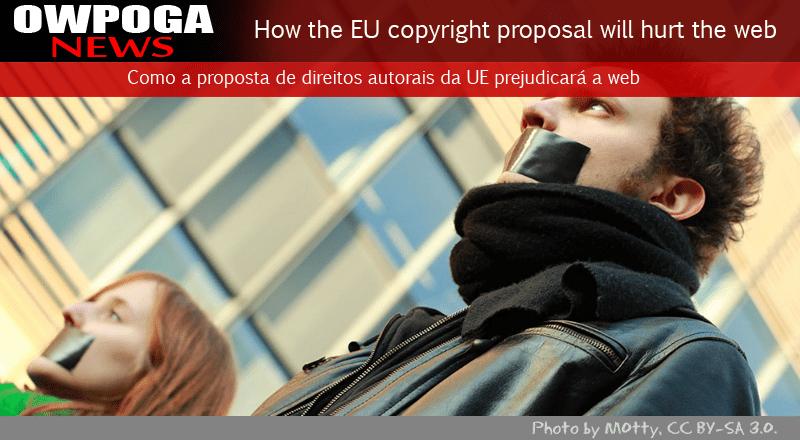 Como a proposta de direitos autorais da UE prejudicará a web e a Wikipedia?