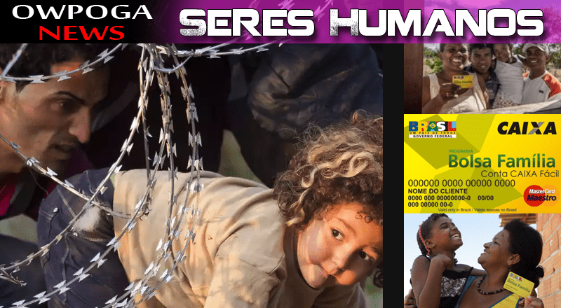Como são tratados os seres humanos?