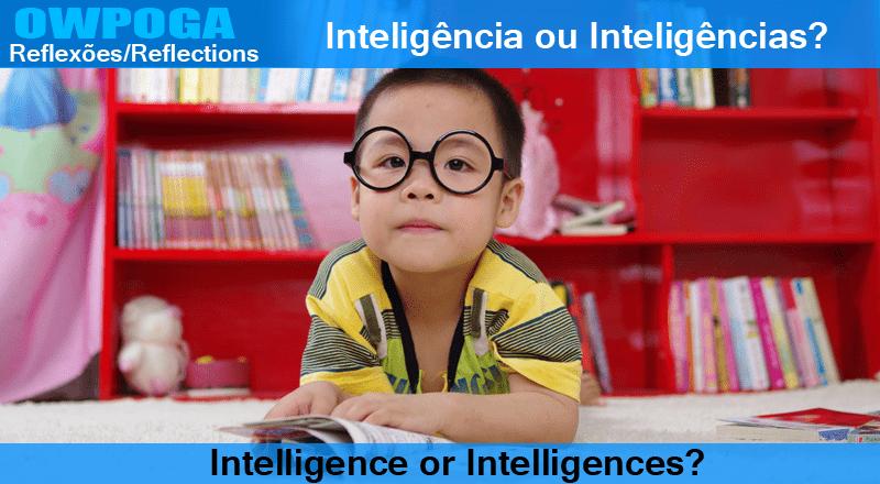 Inteligência ou Inteligências?