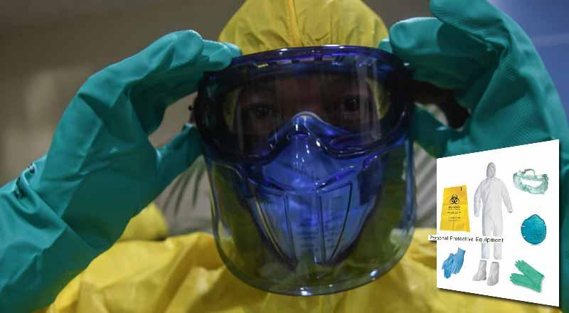 Escassez de equipamentos de proteção individual que colocam em risco os trabalhadores da saúde em todo o mundo