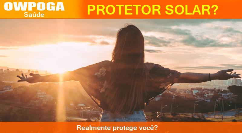 Protetor solar pode ser prejudicial a saúde?