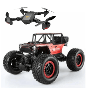 Drones, carros, tratores, caminhões barcos e muito mais!